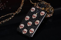 For iPhone 6 Plus Case 5.5 inch Luxury Stone Perfume Bottle Diamond Skull Fashion Hanging For Apple iPhone6+ Cover Hot Wholesale