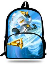 16-inch Mochila Escolar Menino Cartoon NINJAGO Backpack Kids Bags Boys Cool Children School Bags For Teenagers Age 7-13(China (Mainland))
