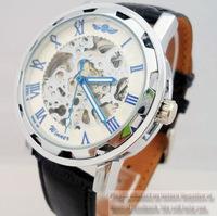 Fashion hollow manual mechanical watch business men mechanical watches