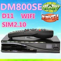 2pcs DM800se Dm800hd se hd Satellite tv Receiver 300mbps Wifi dm 800se SIM2.10 BCM4505 400Mhz Tuner DM800 se dhl Free Shipping