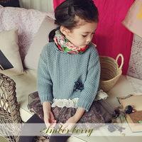2014 Winter Autumn Baby Cartoon Sweater Boy Girl Child Sweater Baby Turtleneck Sweater Children Outerwear Sweater Free Shipping