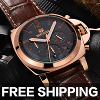 relojes  authentic stainless steel business casual male table multifunctional quartz watch men wristwatch Luxury brand watch