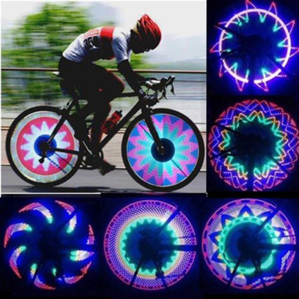 Фара для велосипеда Bicycles Rainbow Wheel Light 32 , ZH00500