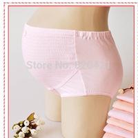 Pregnant women cotton underwear waist pants belly care Cotton Maternity yards adjustable belts pregnant briefs