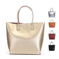 New Women Handbags Woman's genuine leather handbags lady's woman's bags shoulder bag ladies bags GOLD SILVER COLORS 666