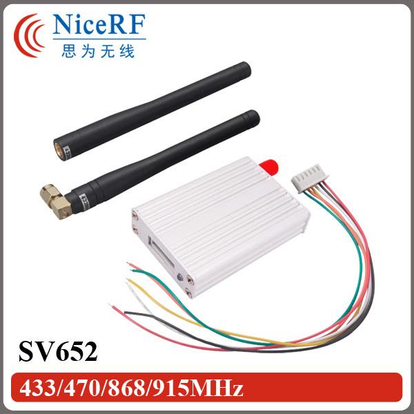 2sets 500mW 3km distance radio modem SV652 rs232 wireless data transceiver modules(China (Mainland))