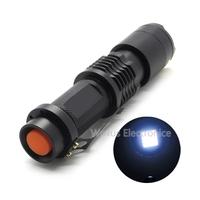 SK98 Zoomable CREE XML-T6 Flashlight Portable Adjustable Focus Mini LED Flashlight