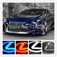 nuovo arrivo 4d marchio dell'automobile luce led fredda emblema luce per lexus 4d autoadesivo dell'automobile 4d auto badge per lexus ha condotto logo per lexus(China (Mainland))