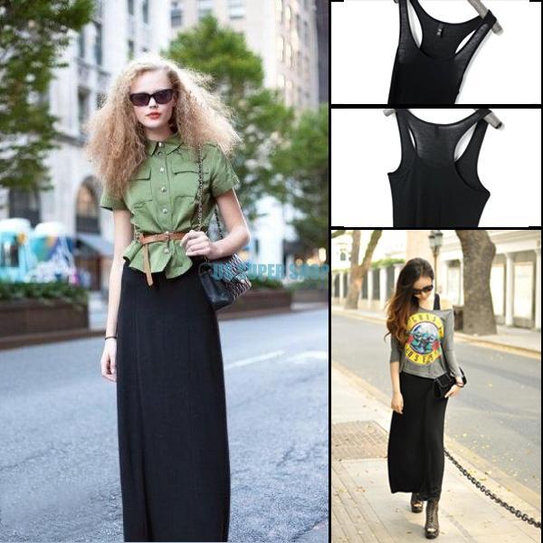 элегантные женщины девушка долго платье черный
