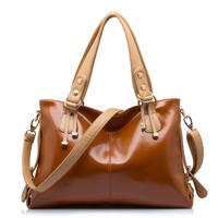 2015 Women Leather Bag Portable Shoulder Bag Women Messenger Bag New Women Handbag Crossbody Bolsas Fashion Genuine Leather Bag