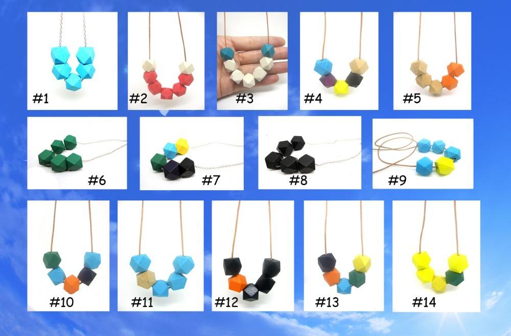 121 designs to choose geometric necklace 1pc sales minimalist wood jewelry modern trible(China (Mainland))