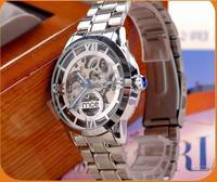 Foreign trade wholesale high-grade watch Hollow out mechanical men watch