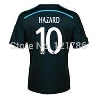 A+++ Top Thailand 14 15 Chelsea Soccer Jerseys HAZARD FABREGAS DIEGO COSTA 3rd Football Shirts away soccer uniforms+logos