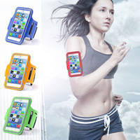 Hot! High Protection Leather Saturn Brush Running Armband Case For iphone 6 4.7 inch Waterproof Sport Belt GYM Retail SGS04345