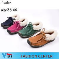 2014 winter new snail shoes plus cotton warm shoes large size shoes factory direct pregnant women winter shoes H0851 with box