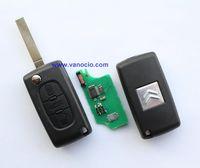 Citroen Triumph , Sega 3 button folding remote transponder key 0523 model 434mhz