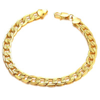Women Bracelet Bangles For Women 2014 Fashion Pulseiras Femininas Gold Chain Men Jewelry Christmas Gifts Charm Bangles Bracelets