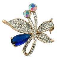 Fashion Crystal Rhinestone Fancy Brooch