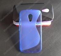 For Motorola Moto G2 XT1063 XT1068 XT1069 soft silicone s line gel tpu case cover skin,20pcs/lot,free shipping