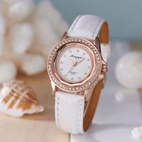 Fashion Casual Women Analog Quartz Leather Band  Wrist Watch 2014 Free Shipping Girls Lady Watch, Hot Women's Fashion Watches