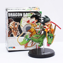 Retail Dragon Ball Z fantastic arts action figure toy Gokou Shenron set collection 17cm Free Shipping(China (Mainland))