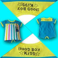 2014 summer children's clothing girl striped modal T-shirt Kids baby t-shirt boys clothes