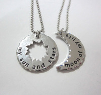 His And Hers Khal/Khaleesi Game Of Thrones Necklace Moon Of My Life ,my Sun And Stars Pendants Necklaces  LM-N018