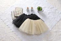 Hot sell 5pcs/lot Shining Korean gauze skirt baby tutus