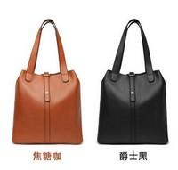2014 fashion ladies leather handbags retro portable shoulder bag tide bucket Picture