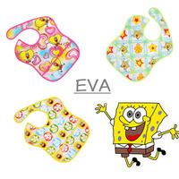 3 pcs/lot,Baby bib,Infant EVA bibs,baby girls and boys healthy bib, Waterproof feeding bib