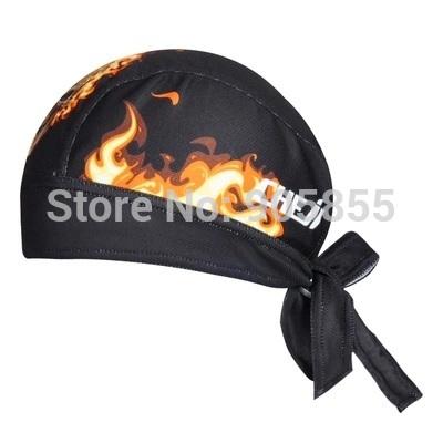 Headband Skull Flame Ride Outdoor Men Women Bicycle Header Cap Personality Original Pirate Sun-proof Headband Balaclava Hat Hats(China (Mainland))
