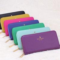 2014 New Fashion Women Wallets Zipper Wallet Chance Long Design Female's Retro Purse Clutch Bag Bolsa Feminina size 20*10*3cm