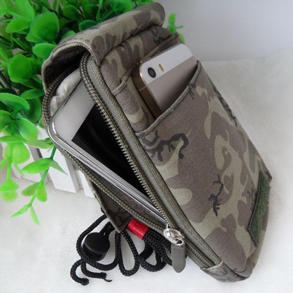 universal nova saco do telefone móvel exterior exército camo saco gancho cinto laço bolsa e estojo caso capa para multi modelo de telefone celular(China (Mainland))