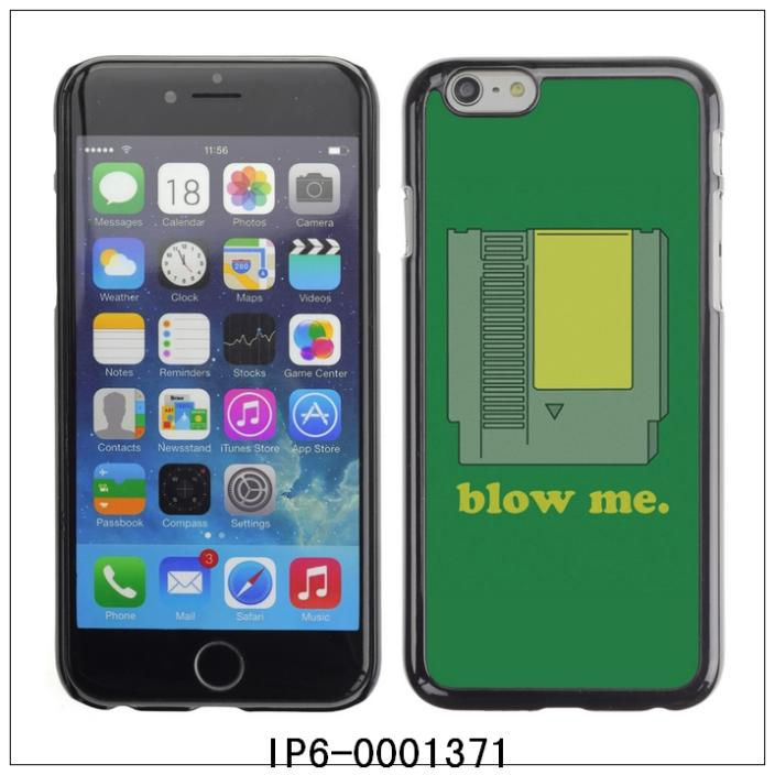 "Funny BLOW ME Video Game-FOR 4.7""iPhone 6 Plastic Hard Back Case Cover Shell,30PCS/Lot (IP6-0001371)(China (Mainland))"