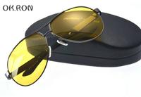 High quality sunglasses men brand designed sports cycling sun glasses driving glasses polarized sunglasses Night Vision Goggles
