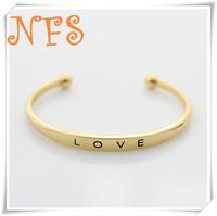 New Fashion jewelry love cuff bangle for women girl  wholesale B864
