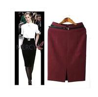 Free Shipping ! Women's Autumn and Winter OL Fashion 2014 New Skirt,Female Large size Pencil Sheath Sexy Skirts XL XXL XXXL