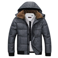 warm soft coat outdoor jacket red balck army green good quality 7 colors fur collar cotton padded overcoat hooded clothing