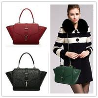 2015 Brand New Genuine Leather Handbags Wholesale Handbags Shoulder Bag Korean Fashion ladies bags Women Leather Bag 8803