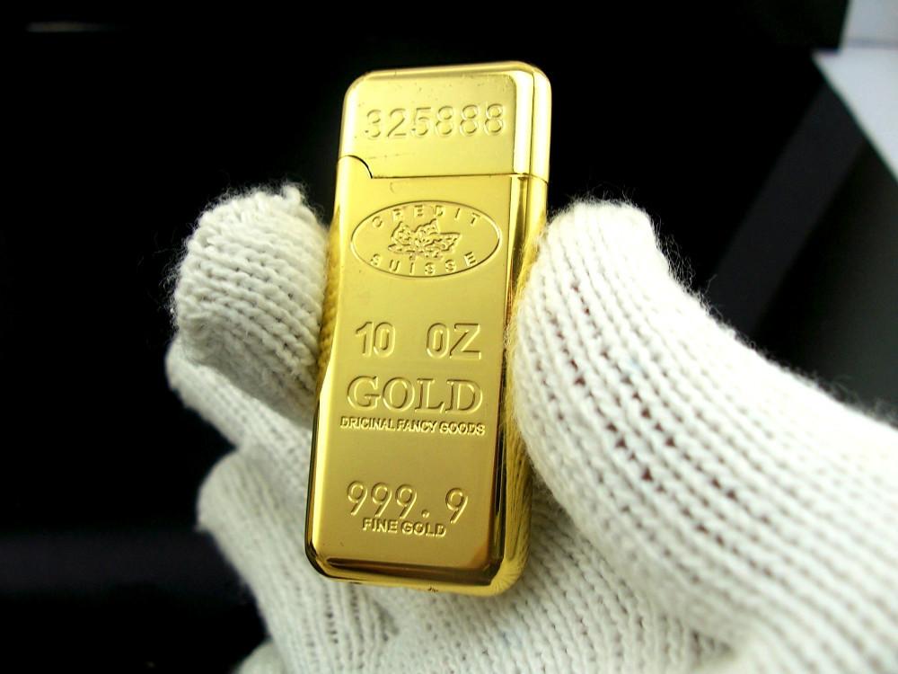 Gold Bar Shape Lighter