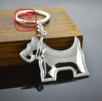 Quality poodle car key chain car keychain car key ring