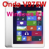 Original Onda V975W Window 8.1 Intel 3735D Quad Core 64bit CPU 2GB/ 32GB Retina Screen 2048*1536 Bluetooth HDMI Tablet PC