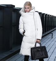 Winter jacket women Coat Down jacket Plus size Duck down L Fashion White Black Beige Female Warm dtyrf034ong 2014 new