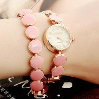 Free Shipping 5 Colors GEANEL Bracelet Fashion Ladies Watch Women Luxury Watches Dress Clock Quartz Watch Relogio Feminino