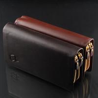 Promotion!Quality Assurance Men's Genuine Leather  Pu Wallet Man Purse/Wallet For Men Wholesale Price