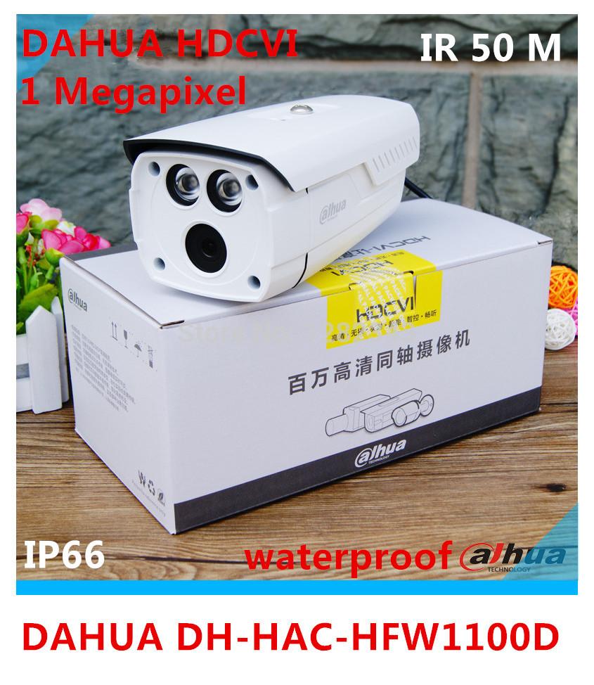 Dahua 1.3 Megapixel 720P HD Cost-effective IR HDCVI Camera DH-HAC-HFW1100D 50meters IR waterproof gun type(China (Mainland))