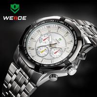 WEIDE WH1010 Watches Men lLuxury Brand Men's Military Sports Wristwatches Original Japan Quartz Male Clock Waterproof Watch