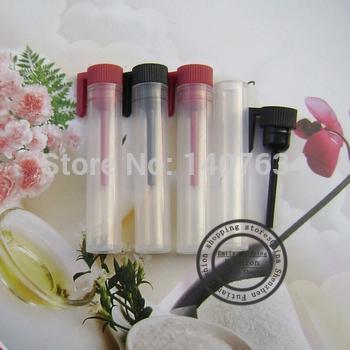 Free shipping,100pcs/lot,2ML drops stick plastic bottles,plastic bottles,cosmetic packaging,perfume bottles,Refillable bottles(China (Mainland))