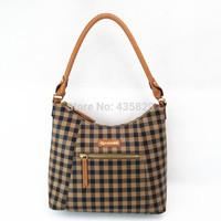 2014 Hot Sale Women's Plaid PVC Tote bag Revendele Brand Popular Fashion Whole sale(Retail)9134