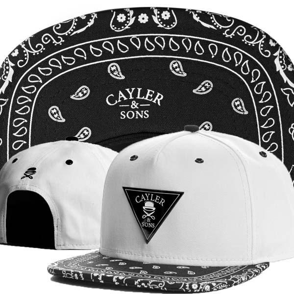 Cayler and Sons Snapback Bandana Caps Cap Cayler and Son Swag Bone Strapback Chapeu Baseball-caps Hats for Men Women Snapback(China (Mainland))